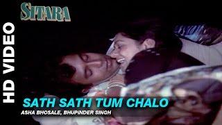 Sath Sath Tum Chalo - Sitara   Asha Bhonsle & Bhupinder Singh   Mithun Chakraborty & Zarina Wahab