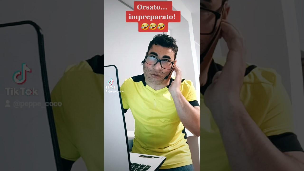 Orsato è impreparato 😅 (parodia)