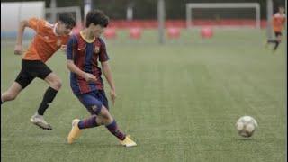 Quim Junyent - FC Barcelona Infantil A vs Nastic Tarragona - 17/04/2021 HD