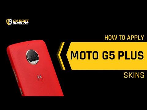 How To Apply Skinnova Moto G5 Plus Skins