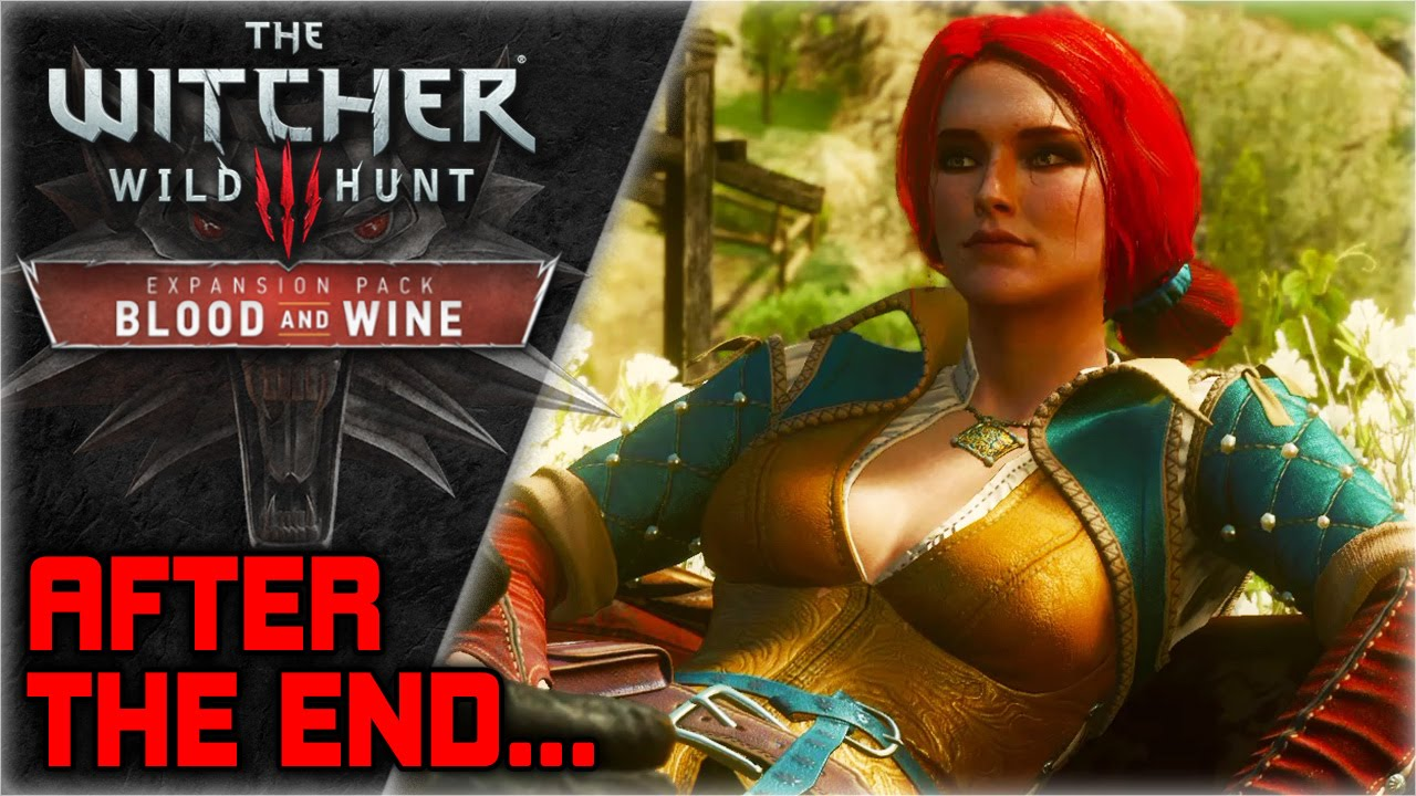 Witcher 3 blood and wine triss ending