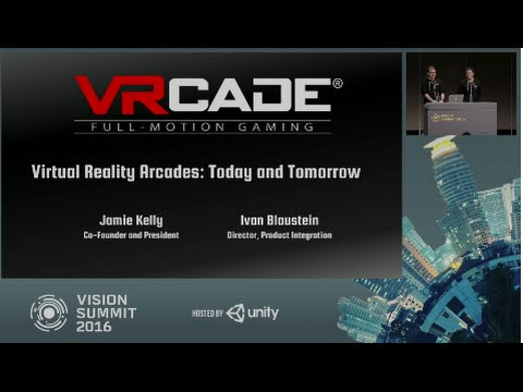 Virtual Reality Arcades: Today and Tomorrow