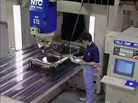 Komatsu TLM Series 5-Axis Laser Cutting System