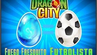 Como hacer al Dragon futbolista y al  Fuego Fresquito | Dragon City |