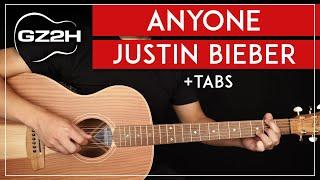 Tutorial Gitar Siapa Saja Pelajaran Gitar Justin Bieber | Tanpa Capo + Sturmming & Fingerpicking |