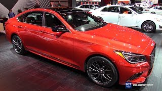2018 Genesis G80 Sport - Exterior and Interior Walkaround - 2018 Detroit Auto Show