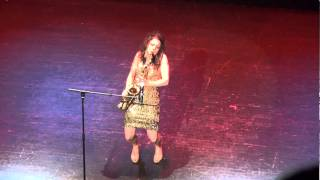 Eva Diva Saxophonist/Rapper Live at the Apollo -