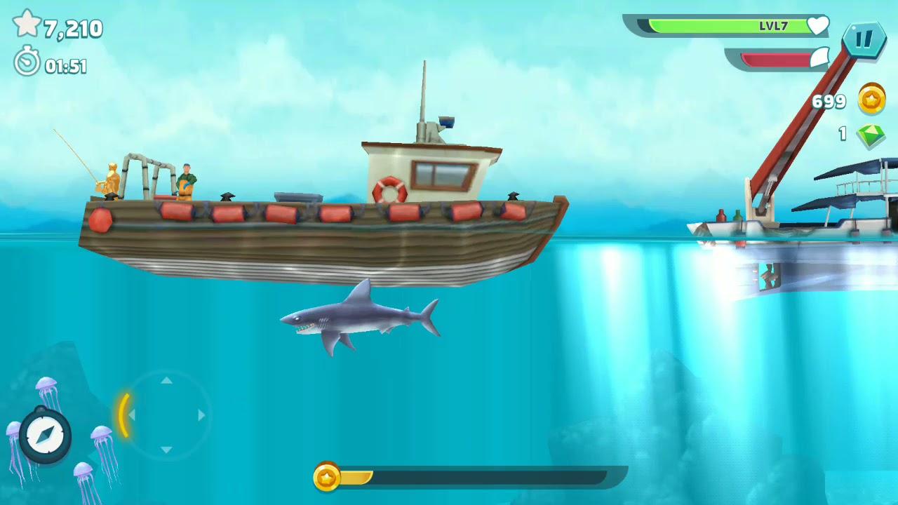 Mako shark pengganti super shark hungry shark  (bahasa Indonesia) ~ ~ ~ SHARK NIGHT 3D