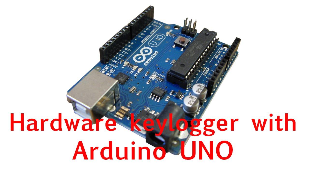 Hardware keylogger with arduino uno youtube