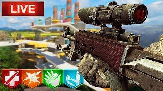 The IMPOSSIBLE Zombie Tower CHALLENGE! SO MANY CLUTCHES... (Call of Duty: Custom Zombies)