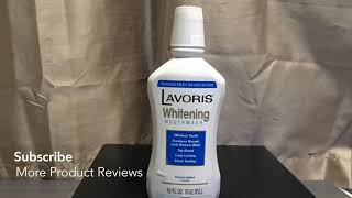 ✅  How To Use Lavoris Fresh Mint Whitening Mouthwash Review