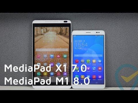 HUAWEI MediaPad X1 7.0 vs MediaPad M1 8.0 im ausführlichen Vergleich