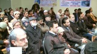 Ahmadi Muslims at Jalsa Seeratun Nabi(saw) by non-Ahmadis in Calgary Canada (12 Feb 2012)