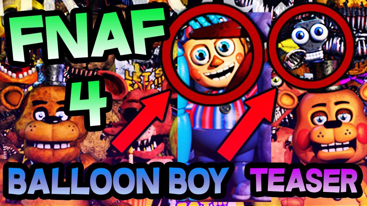 Fnaf 4 dlc balloon boy confirmed secret endoskeleton is secret endoskeleton is nightmare balloon boy in new fnaf teaser youtube sciox Choice Image