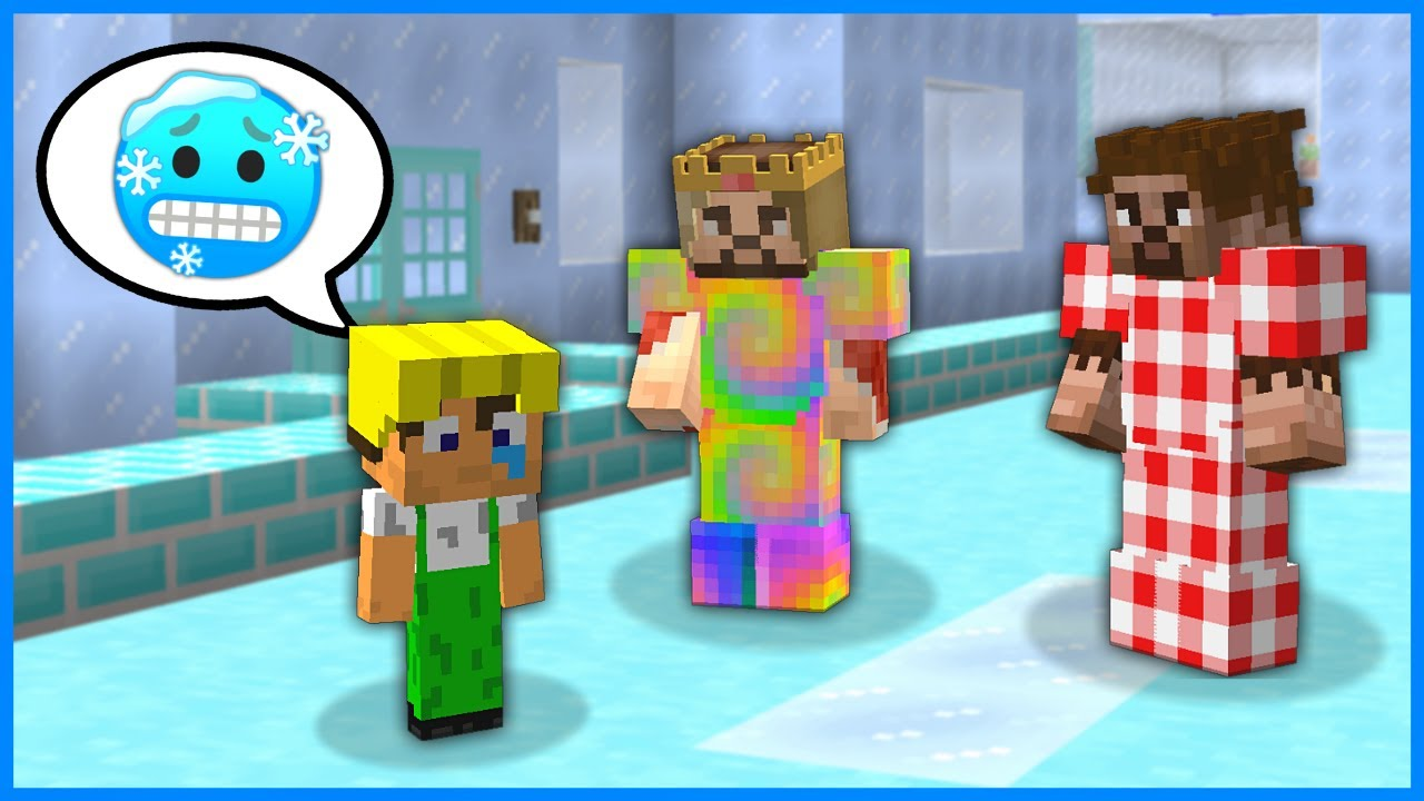 ŞEHİR BUZ TUTTU HERKES ÇOK ÜŞÜYOR! 😱 - Minecraft