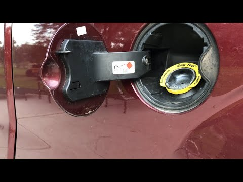 How to fix Ford F150 loose fuel door