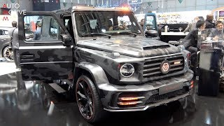 THIS IS THE MANSORY x PHILIPP PLEIN MERCEDES-AMG G63 'STAR TROOPER' - GENEVA MOTORSHOW 2019