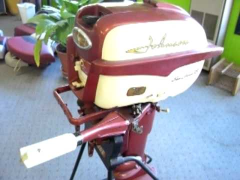 Manual 1958 18hp johnson outboard