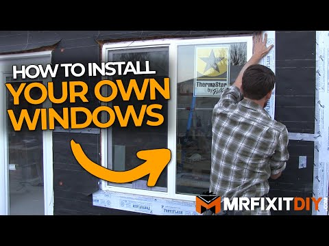 How To Install A Window New Construction You