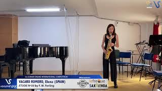 Elena Vacaro Romero – Etude Ferling 35