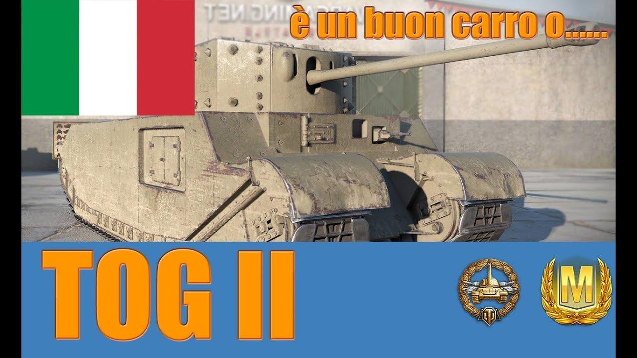 World of Tanks TOG II Review ITA - YouTube