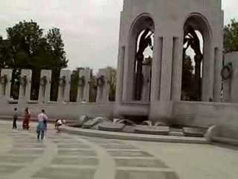 World War II Memorial in Washington DC