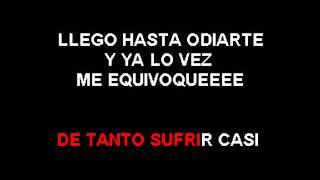 Karaoke Jean Carlos Canela   mi corazon insiste