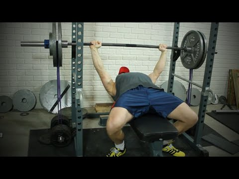 Banded Bench Press Setup & Band Tension Tip from Maxx Chewning