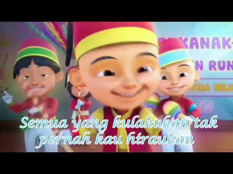 Lagu Sayang Versi Bahasa Indonesia - Via Vallen | Parody Upin Ipin Plus Lirik Full