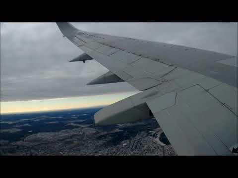 AK Utair, Boeing 737-500, взлет аэропорт Внуково (Москва)