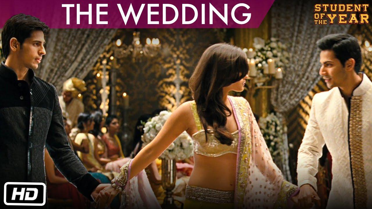 The Wedding Student Of Year Sidharth Malhotra Alia Bhatt Varun Dhawan You