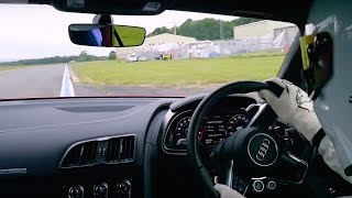 StigCam  Audi R8 V10 Plus   Top Gear