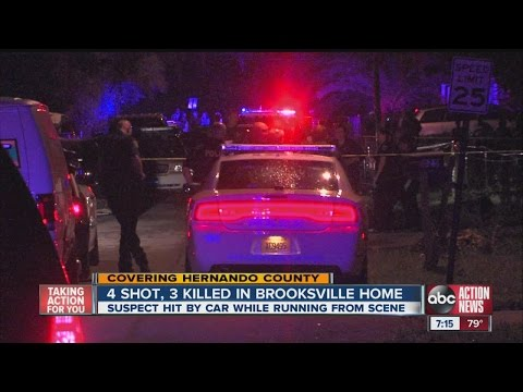 3 killed in Brooksville shooting