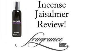 Incense Jaisalmer Review! Definitely Incense