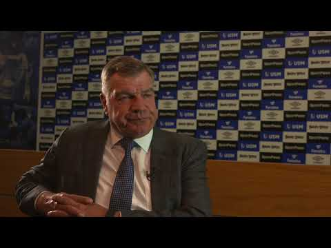 FIRST INTERVIEW: SAM ALLARDYCE - NEW EVERTON MANAGER