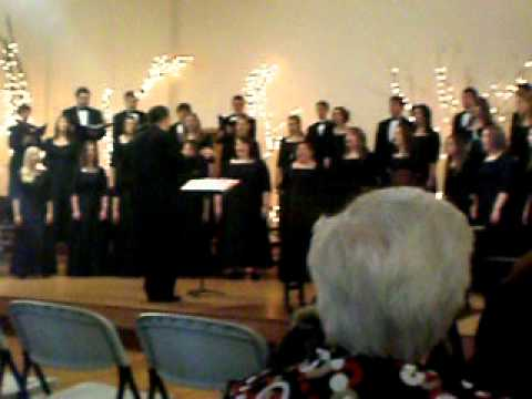 Chadron State College Choir Song