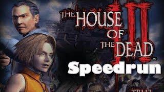 (World Record) House of the Dead 3 Speedrun - Hard (19:23)