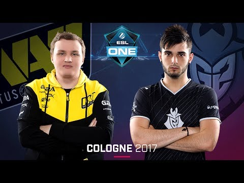 CS:GO - Na'Vi vs. G2 [Overpass] Map 1 - Quarterfinal - ESL One Cologne 2017