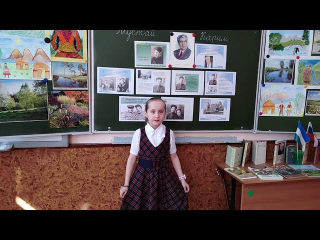 Изображение предпросмотра прочтения – ДарьяБорисова читает произведение «Рябина» (Карим Мустай)