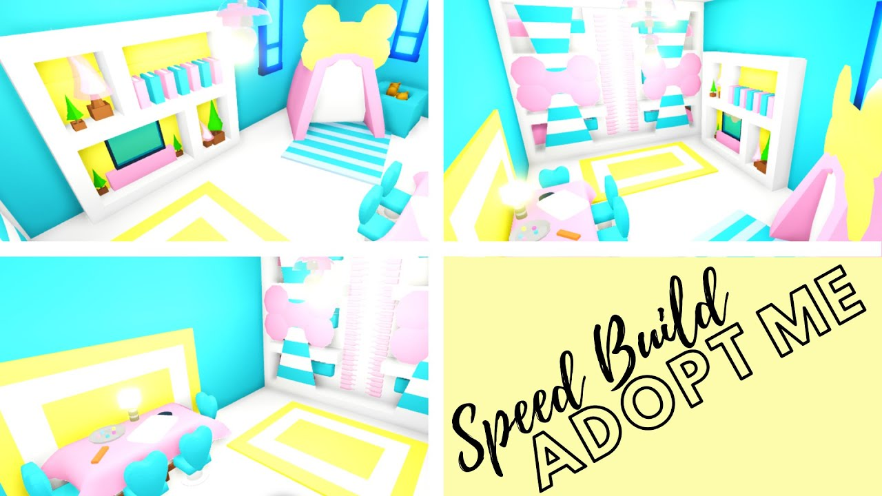 Adopt Me Speed Build Adopt Me Bedroom For Baby Adopt Me Building Hacks Adopt Me Futuristic Home Youtube In 2020 Cute Room Ideas Futuristic Home Adoption