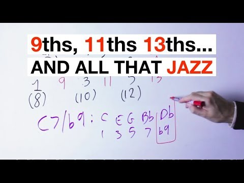 EXTENDED (9 11 13) And ALTERED (#11, b9, etc) CHORDS Explained