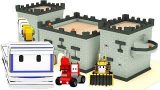Die Geisterbahn - Lerne mit den kleinen Trucks 👶 🚚 Lehrreiche Cartoons für Kinder