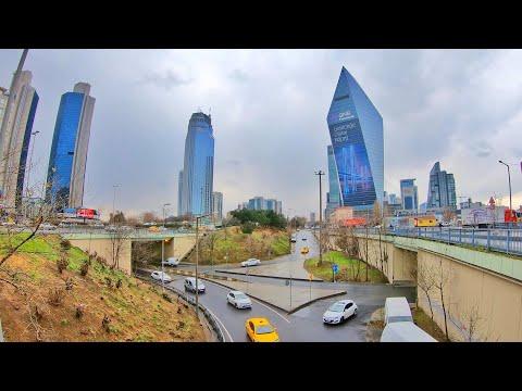 Walking Tour - Levent   Istanbul 🇹🇷 [4K]