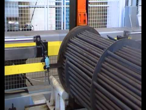 Poole Process Equipment - New shell & tube heat exchanger cutting system