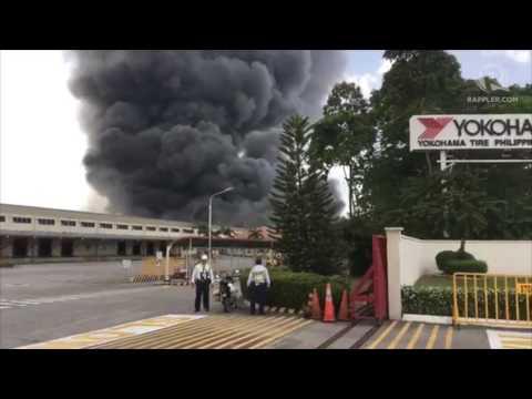 Yokohama Tire Philippines catches fire