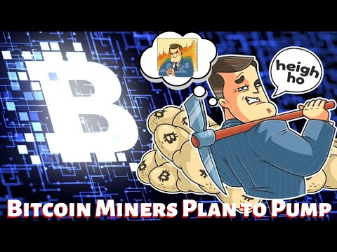 The Bitcoin Miners Pump Plans for Halving