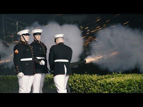 Marine Body Bearers Video Shoot - Behind the Scenes