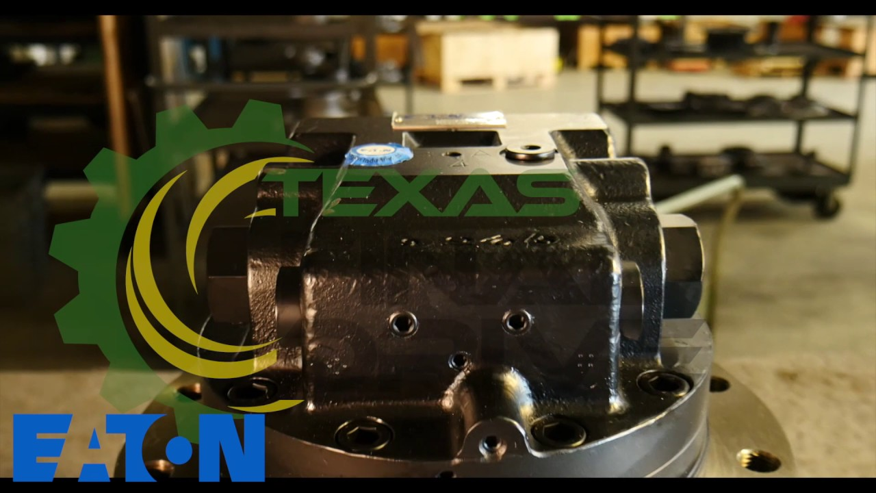 Takeuchi TB68S Eaton Hydraulic Drive Motor