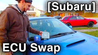 How to Change ECU [Engine Control Unit Swap // Subaru]