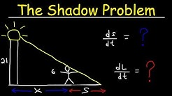Related Rates - The Shadow Problem
